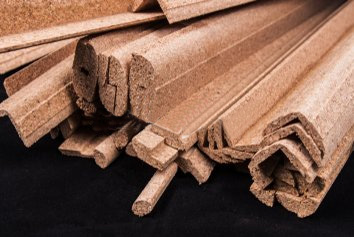 Cork slats